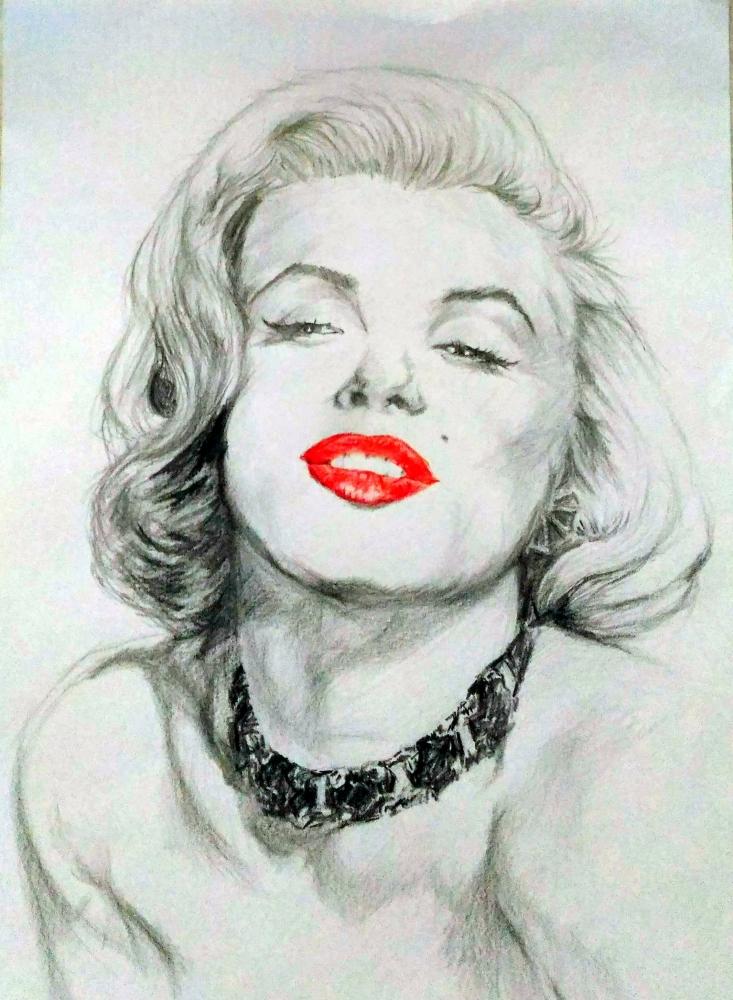 Marilyn Monroe by linshyhchyang
